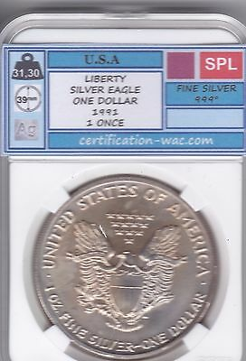 Liberty Silver Eagle One Dollar 1991 1 Once U.s.a