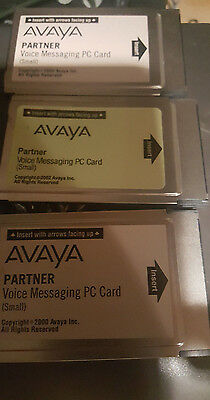 Avaya Partner Voice Messaging PC Card (Small) Voice Mail