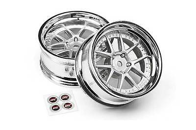 HPI DY Champion Wheels Chrome 6mm 2pcs 111276