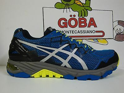 ASICS GEL FUJI TRABUCO 4 snorkel blue/silver/flash yellow