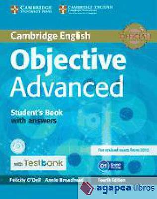 Objective Advanced Student's Book with Answers. LIBRO NUEVO