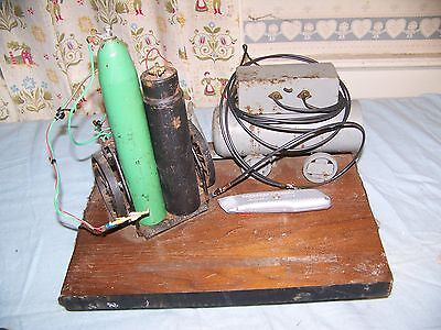 welding machine and cutting torch display one of a kind -great retirement gift..