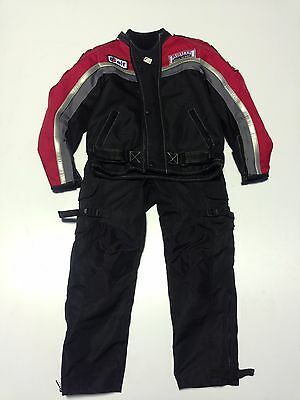 Kids  motorcycle jacket and trousers size (7/8 year old)