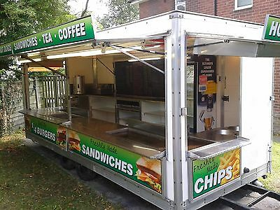 18ft Showmans Catering Trailer