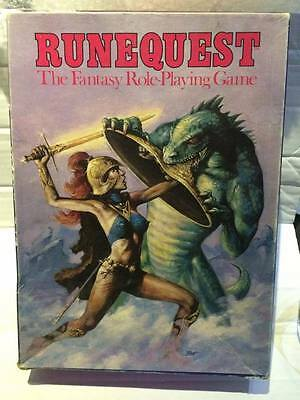 Games Workshop Board Game - RUNEQUEST - Fantasy RPG Role Playing -Boxed Complete