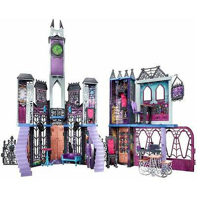 Monster High Deadluxe High School Playset - Wow * Spooky doll house * NEW