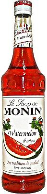 MONIN Coffee Syrup WATERMELON 70 CL - Is perfect for Summer Drinks!