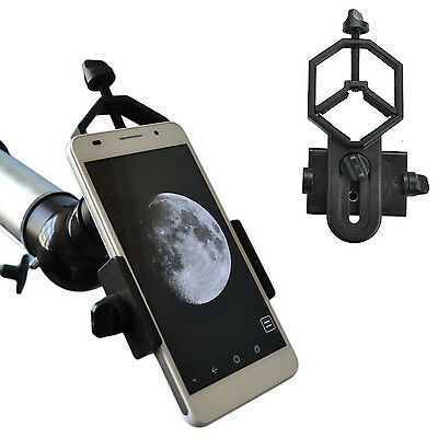 Spotting Scope Smartphone Adapter Mount Compatible with Telescope and Microscope