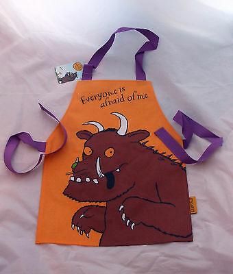 The Gruffalo Children's Orange Plastic Coated Apron (B.n.w.t)