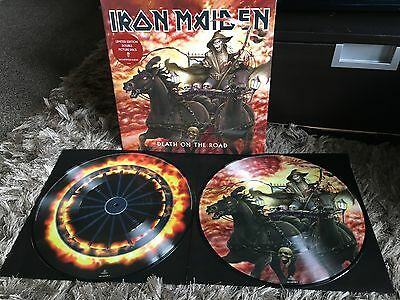 Iron Maiden - Death On The Road - New Gatefold Double PICTURE DISC Vinyl LP