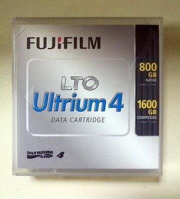 DATA CARTRIDGE FUJIFILM LTO ULTRIUM 4 800gb 1600gb  - NEW NEUF