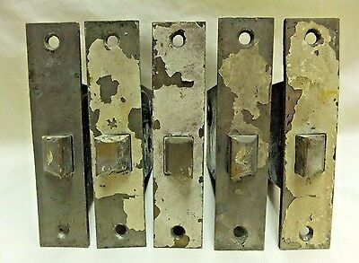 Antique Sargent Brass Plated Latch Mortise Locks