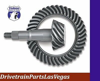 "Yukon Ring & Pinion gear set for Chrysler 9.25"" front in a 3.73 ratio"