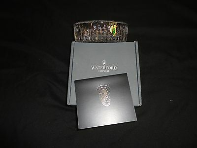 Waterford Crystal Best Wishes Coaster New In Original Box