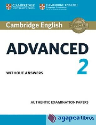 Cambridge certif. advanced 2 st whitout key 15. LIBRO NUEVO