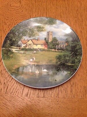 Royal Doulton The Village Pond By Clive Madgwick Collectors Plate