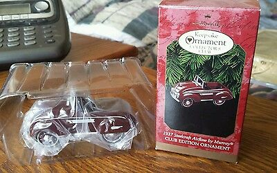 1997 Hallmark Ornament 1937 Steelcraft Airflow Kiddie Car Classic by Murray-MINT