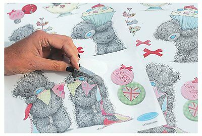 18 x Tea Party, Me To You Tatty Teddy Wall Stickers - Removable & Restickable BN