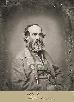 LT. General Jubal Early, CSA Signed