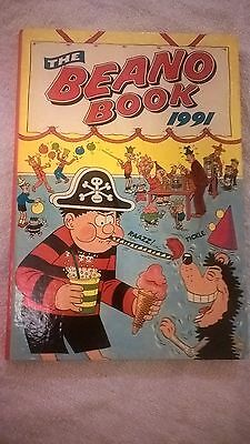 The Beano Book (Annual) - 1991 (Very Good Condition)