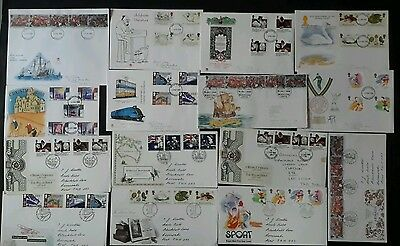 GB stamps - 1988 First Day Covers x 15