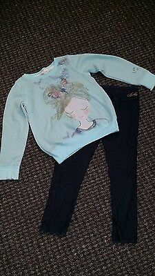 Girls Ted Baker/  Next 2-piece Outfit Age 6-7 Years