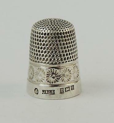 Vintage STERLING SILVER THIMBLE SIZE 6 1951