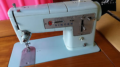 Singer Electric Sewing Machine Model 348