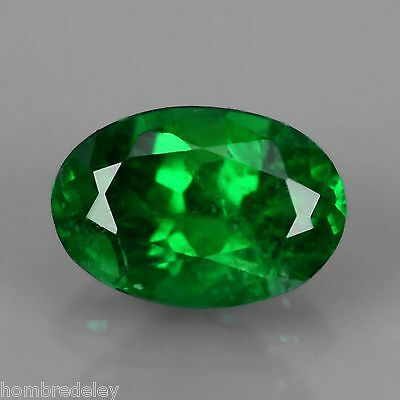 Tsavorite Garnet 0,59 cts,oval,Fancy intense green,VVS1
