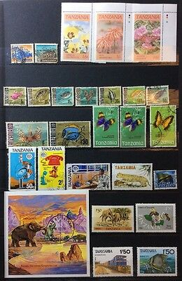 Tanzania Stamp Collection