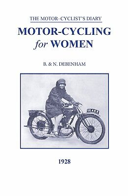 Vintage Motorcycle Book Motorcycling for Women paperback 1928 BSA New Book