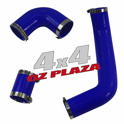 BLUE Intercooler Silicone Hose Kit TOP FITS Land Rover FREELANDER TD4 PERFECT