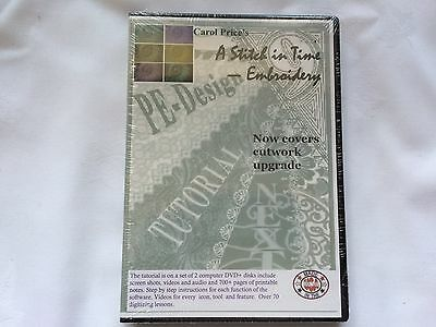 Brother PE Design NEXT Software Tutorial 2 Disc Set on DVD 70+ Lessons NEW