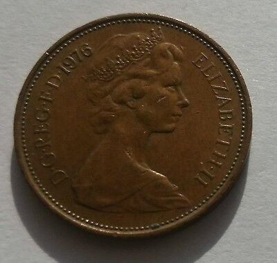 2 new pence 2p Coin 1976