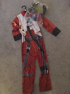 Star Wars Dress Up Age 5-6 Never Worn New POE X-Wing Fighter