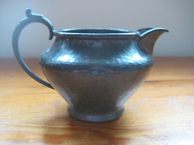 Vintage collectable small pewter jug - 4068