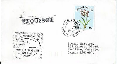 Georgetown - Guyana - Paquebot Cover