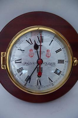 Wonderful Vintage 8 Day Sewills Of Liverpool Ships / Bulkhead Wall Clock • £256.00