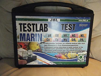 JBL Testlab Marin . Marine Professional test kit case for the analysis