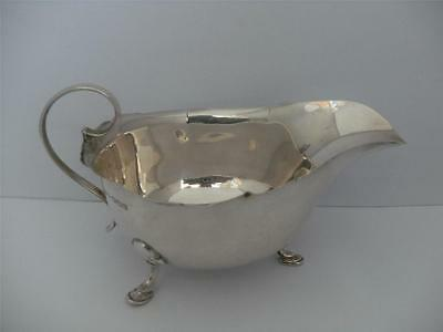 Beautiful Sterling Silver SAUCE BOAT Sheffield 1951 Mappin & Webb
