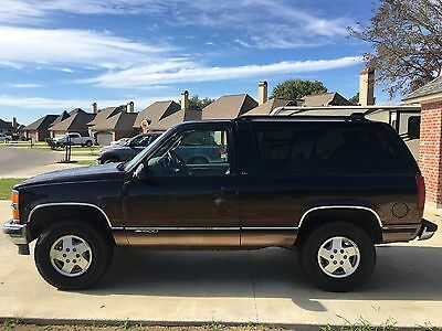1995 Chevrolet Tahoe  Luxury Limited 2 Door 4x4 Chevy Tahoe