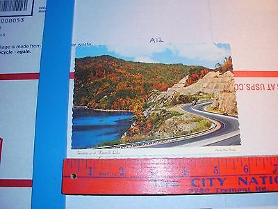 North Carolina NC Asheville Interstate 40 Highway tourist vacation Fall color