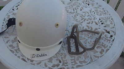 Dublin Cool Rider horse riding helmet, Size 50 and WVS stirrups