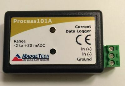 MadgeTech Process 101A Current Data Logger -2 to +30mADC