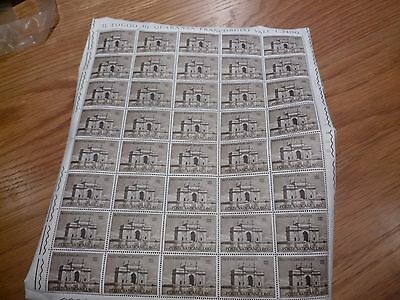 VATICAN STAMPS MNH SHEET 1964 Pilgrimage Pope Paul in Bombay