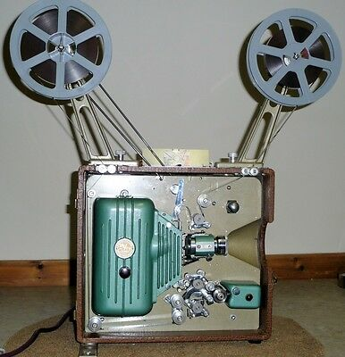 DeVry 16mm Movie Film Projector Sound or Silent All Functions Working. Minty
