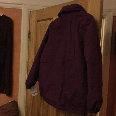 BNWT Burgundy Regatta Jacket