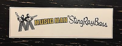 Musicman Stingray Bass (pre EB style) Waterslide Decal