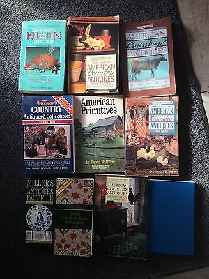 American Country Antiques, American Toys, Kitchen, Primitives, Quilts 10 books