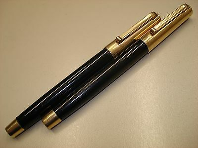 Lot Of 2 Vintage Eversharp Pens, Plastic In Black Color With 1/10 14Ky.g.f. Cαps